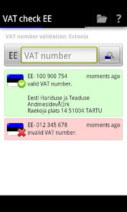 VAT check EE- screenshot thumbnail