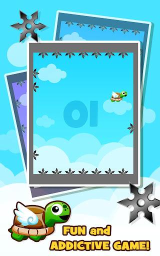 玩免費街機APP|下載놀라운 거북이 메가 점프 -닌자 별을 터치하지 마십시오 app不用錢|硬是要APP
