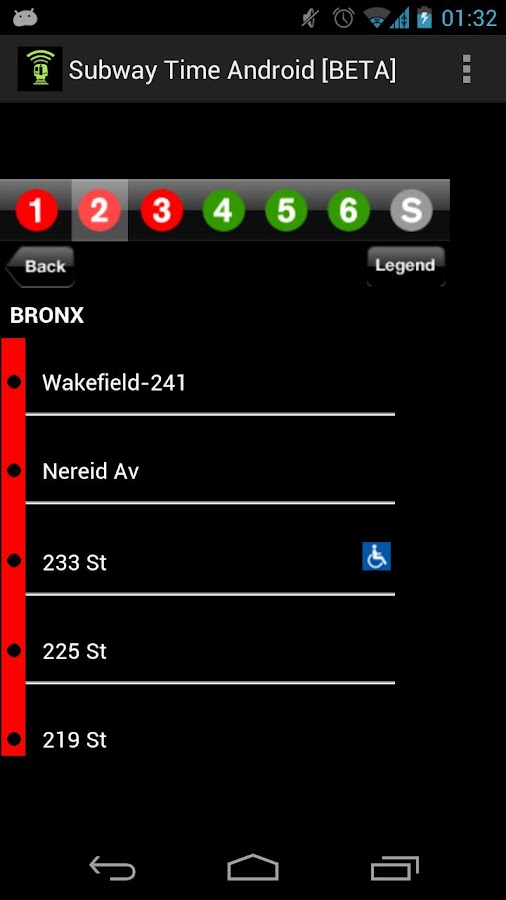 NYC Subway Times [MTA/BETA]- screenshot