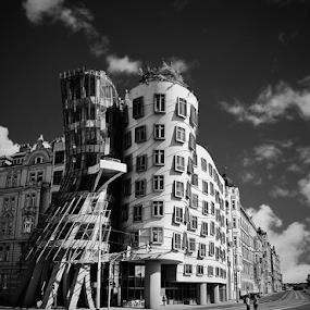 by Irena Brozova - Black & White Buildings & Architecture