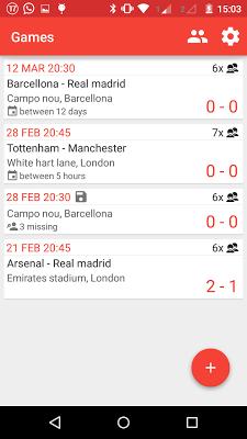 Soccer formations - screenshot