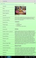Screenshot of Cook Droid Recipes