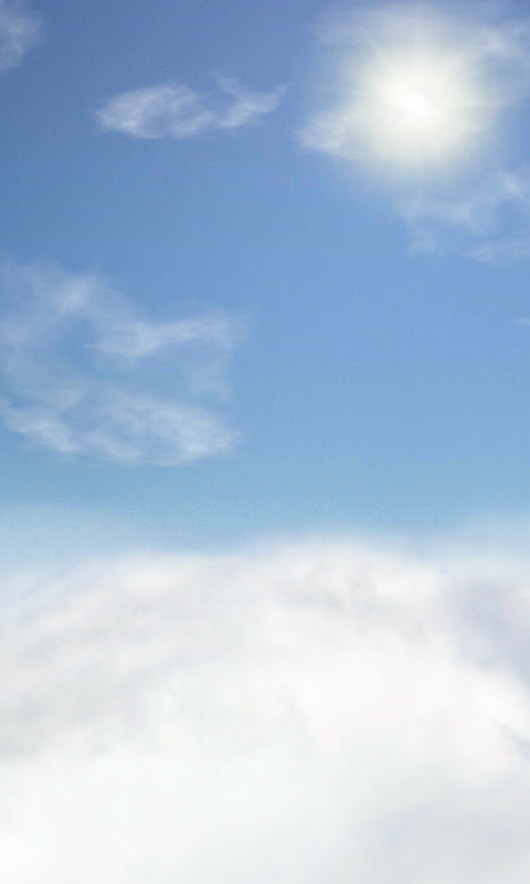 Clouds Wallpaper Free- screenshot