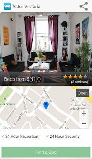 WeHostels - Hostels & Hotels - screenshot thumbnail