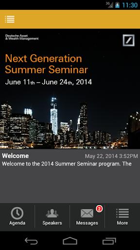 Deutsche AWM Summer Program