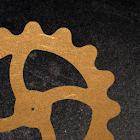 Steampunk engrenagens icon