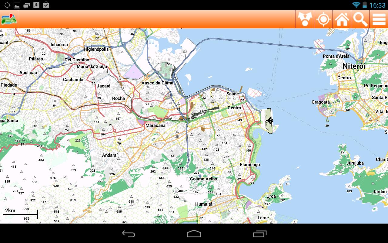 Rio De Janeiro Sightseeing Map – Tourist Map Of Rio De Janeiro