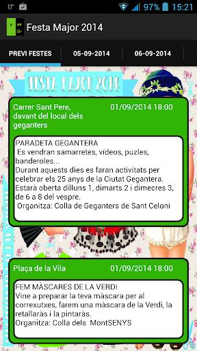 Festa Major Sant Celoni 2014