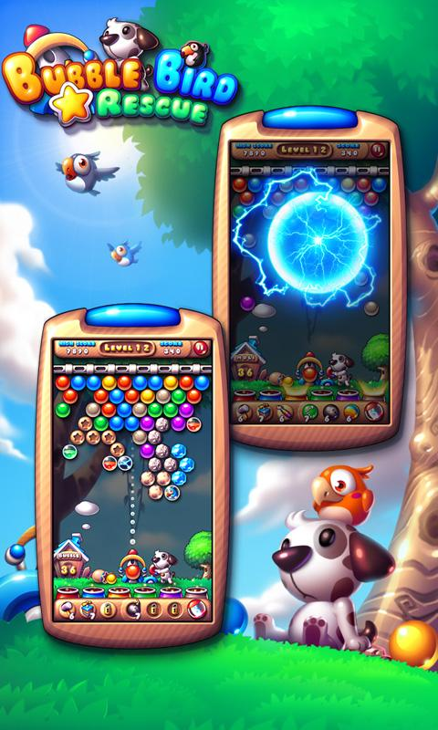 Bubble Bird Rescue - screenshot