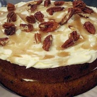 Carrot and Cinnamon Cake Recipe