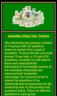 Citizenship Test - Australian