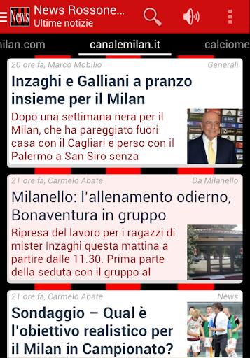 News Rossonero