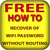 Recover wifi password routing