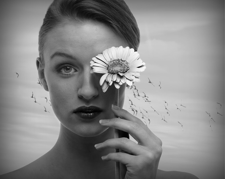 Model composite. by Tracy Hughes - People Portraits of Women (  )