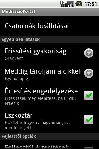 MeditációPortál- screenshot