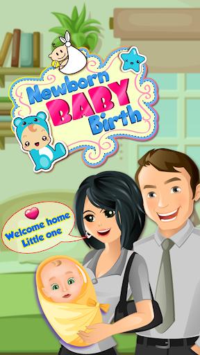 Little Newborn Baby Birth