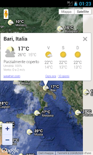 Meteo Italia - screenshot thumbnail