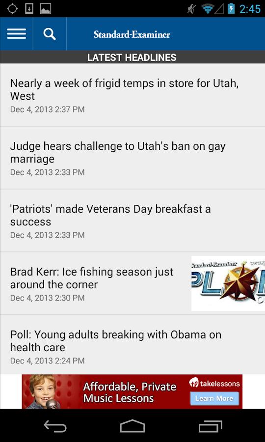 Standard-Examiner - screenshot