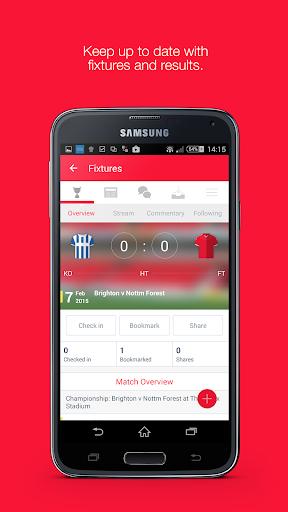Fan App for Nottingham Forest