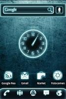 Screenshot of Glow Legacy Clock Widget
