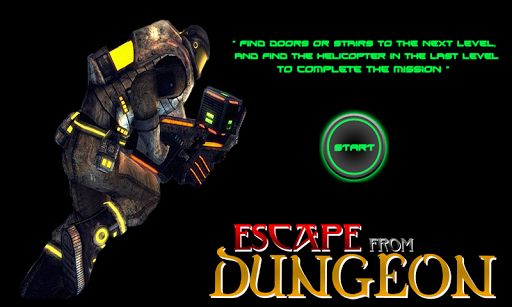 Escape From Dungeon 3rd - PS