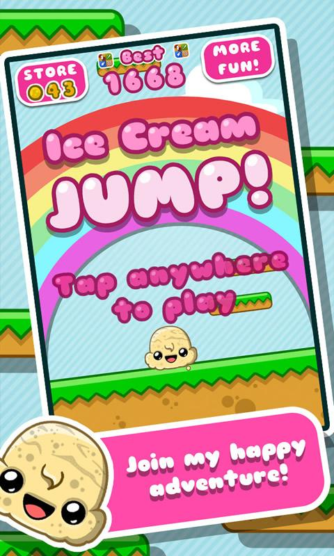 Ice Cream Jump- screenshot
