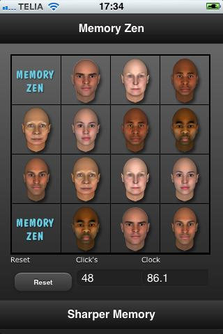 Memory Zen- screenshot