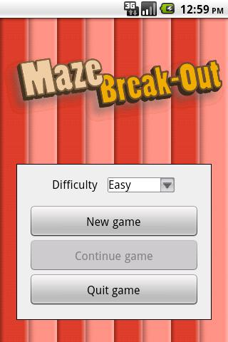 Maze Break-Out Free- screenshot