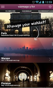 Travel WannaGoList- screenshot thumbnail