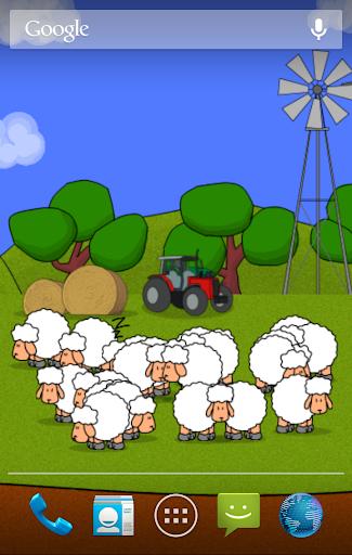 Sheep Live Wallpaper