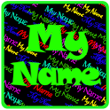My Name Rain Live wallpaper icon