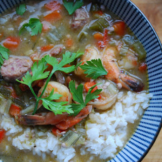 Gumbo with Shrimp and Andouille