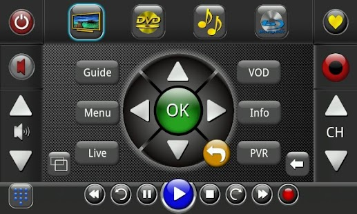 Touchsquid GR PRO Remote - screenshot thumbnail