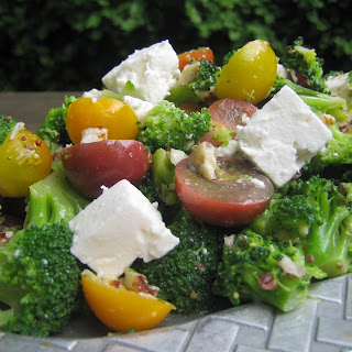 Broccoli Feta Tomato Salad