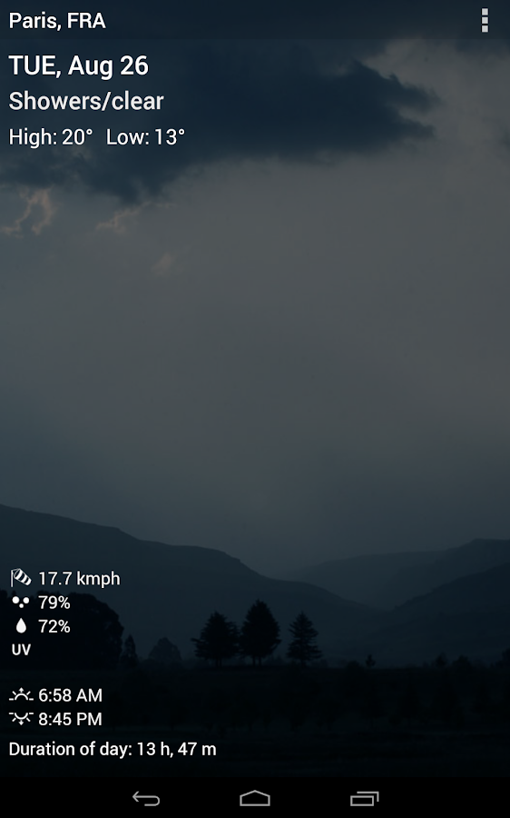 3D Sense Clock & Weather- screenshot