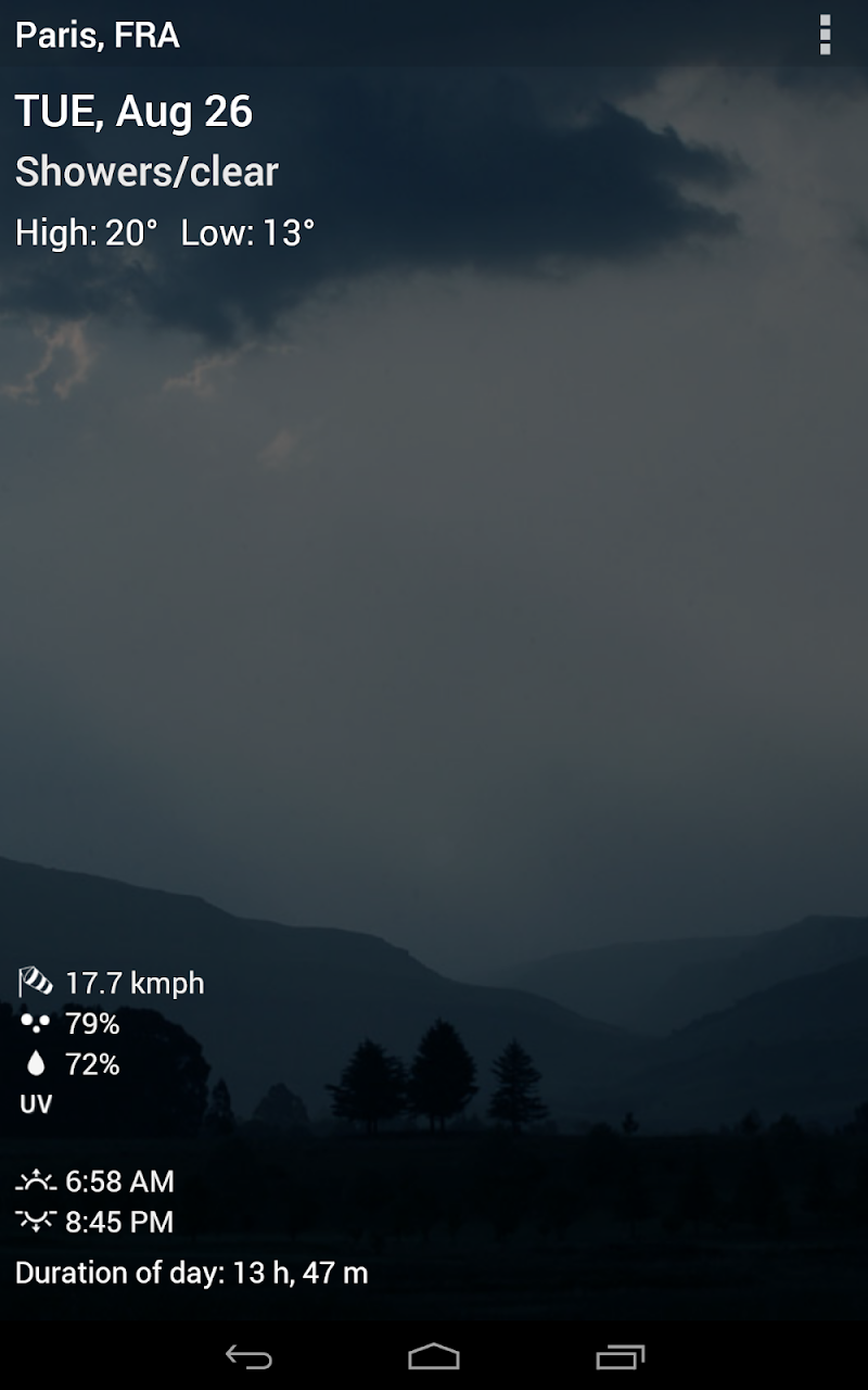 3D Sense Clock & Weather Screenshot 19