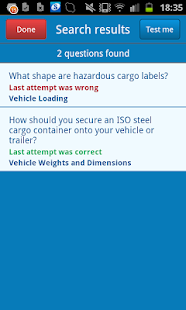 LGV Theory Test UK- screenshot thumbnail