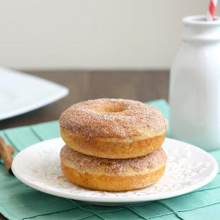 Baked Maple Cinnamon-Sugar Donuts