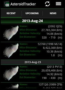 Asteroid Tracker - screenshot thumbnail