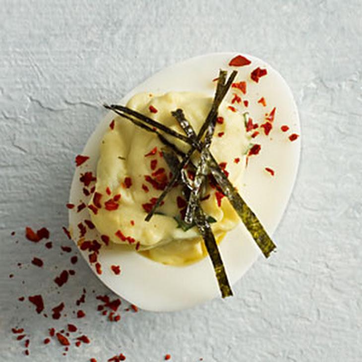 Wasabi-Ginger Deviled Eggs Recipe