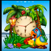 Animated Parrots Alarm Clock