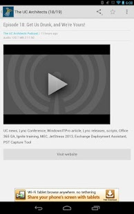 Lync News 2013 - screenshot thumbnail