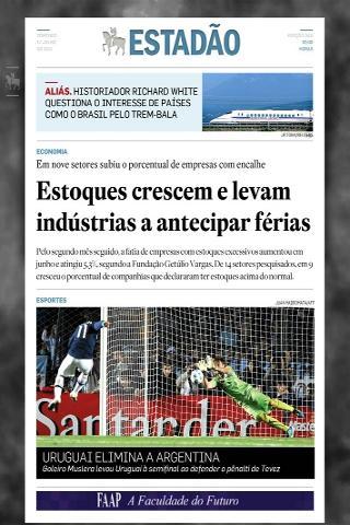 Estadão Jornal Digital- screenshot