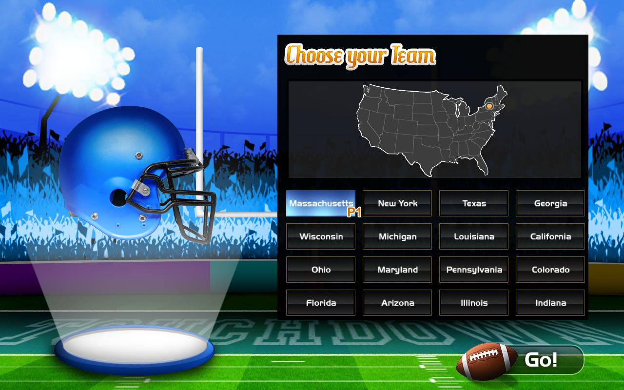 Button Football - TouchDown- screenshot