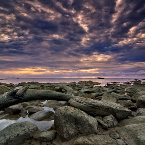 Clouds Flag Cape by Eris Suhendra - Landscapes Cloud Formations ( west borneo, sunsets, cloud, nikon, landscapes,  )