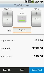 Tip Calculator - screenshot thumbnail