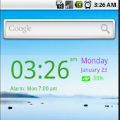 My Color Digital Clock Widget
