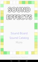 Screenshot of Sound Effects