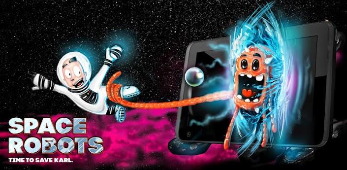 SPACE ROBOTS - Одна из самых сложных и детализированных игр на андроид