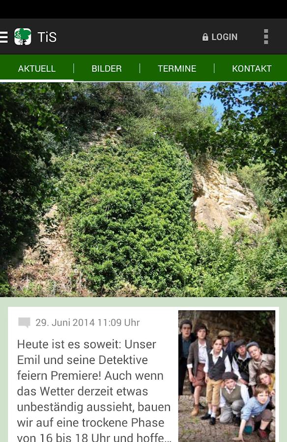 Theater im Steinbruch - screenshot